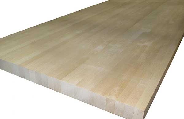 Мебельный щит, бук, 40 мм., сростка