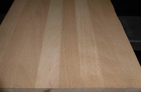 Мебельный щит, бук, 40 мм., цельный