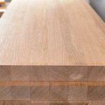 Мебельный щит, береза, 40 мм., сростка