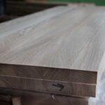Мебельный щит, каштан, 40 мм., сростка