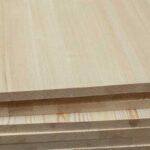 Мебельный щит, лиственница, 40 мм., сростка
